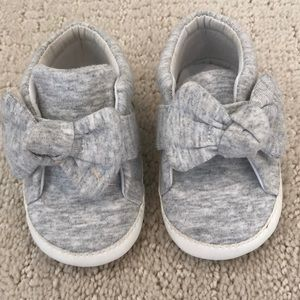 Something Navy Baby Shoes Size 3